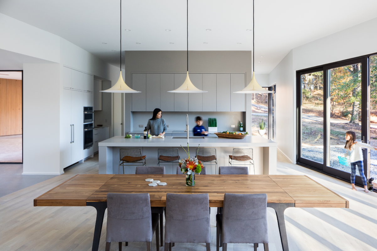 Builders must consider home buyer motivations beyond energy efficiency - such as health - when marketing a Net Zero home. | Courtesy of JELD-WEN. Photo: Keith Issacs