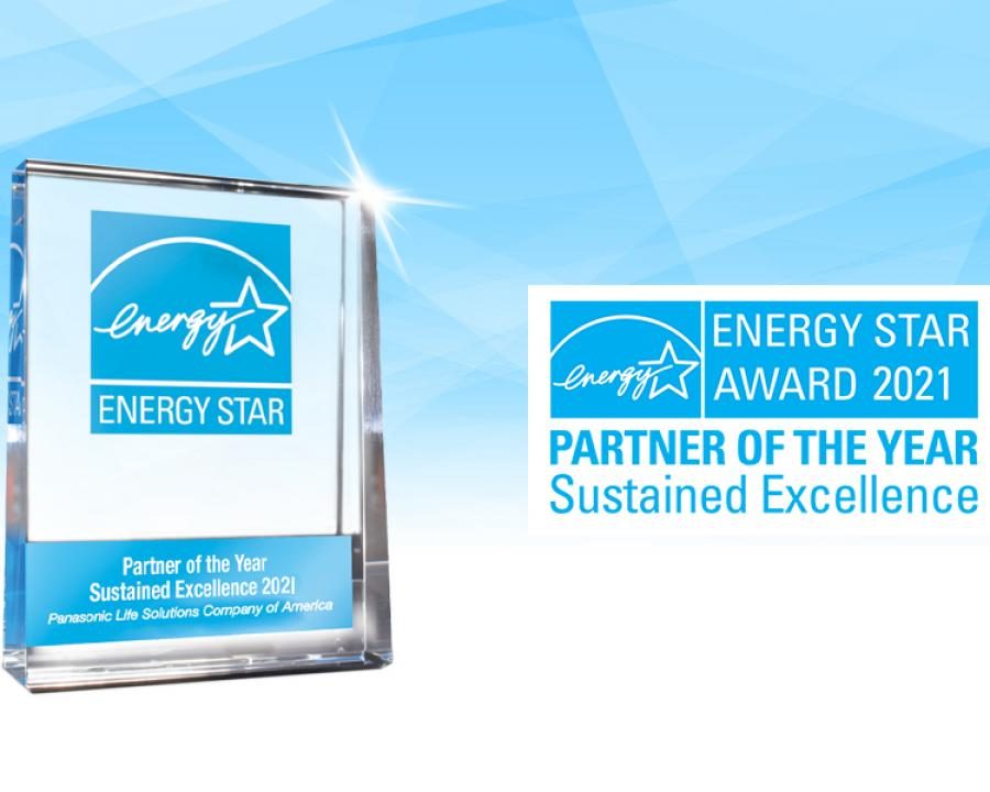 Panasonic Earns 2021 ENERGY STAR