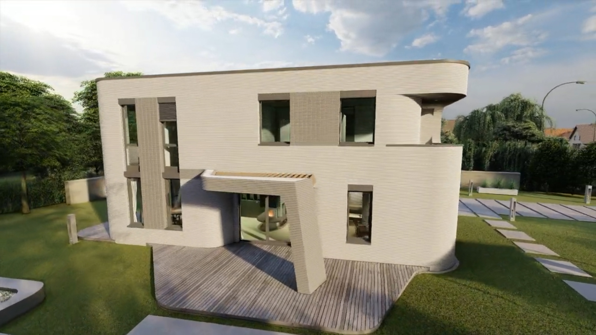 COBOD's 3D Construction Printer Used to Make the First 3D Printed Building in Germany